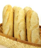 Baguettes, isolated Royalty Free Stock Photo