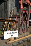 Baguettes magiques magiques Image libre de droits
