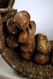 Baguettes na cesta Foto de Stock