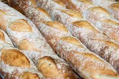 Baguettes Pão-franceses Imagem de Stock