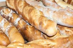 Baguettes Pão-franceses Fotografia de Stock