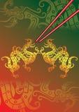 baguettes rouge   Image libre de droits