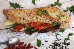 Baguettes sandwich Stock Photos
