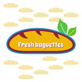 Baguettes symbol Royalty Free Stock Photo