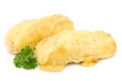 Baguettes van de kaas Stock Foto's