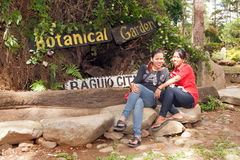 Baguio City Botanical Garden Stock Images