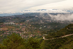Baguio City Mountains Royalty Free Stock Images