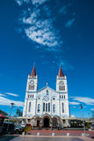 Baguio domkyrka Fotografering för Bildbyråer