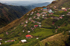 Baguio Hillside Homes Royalty Free Stock Images