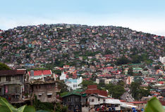 Baguio Philippines Overpopulation Royalty Free Stock Image