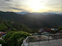 Baguio stad Royaltyfria Foton
