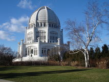 Bahá& x27;í Temple & x28;Wilmette, Illinois& x29; Stock Images