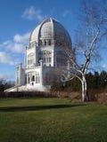 Bahà ¡ & x27 à τόπος λατρείας & x28 Wilmette, Illinois& x29  Στοκ Εικόνες