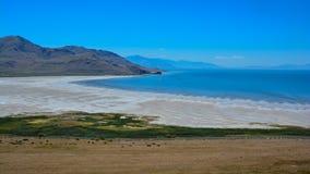 Bahía blanca de la roca Foto de archivo libre de regalías
