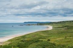 Bahía blanca del parque, condado Antrim Imagen de archivo