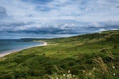 Bahía blanca del parque, condado Antrim Imagenes de archivo