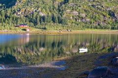 Bahía cómoda, reservada Imagen de archivo libre de regalías