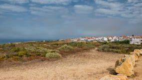 Bahía con boaths Foto de archivo libre de regalías