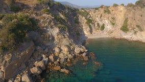 Bahía con los acantilados metrajes