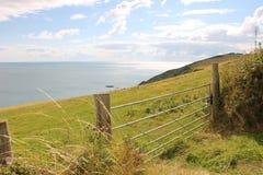 Bahía Cornualles de Whitsand Imagenes de archivo