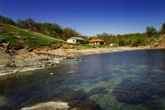 Bahía de Ahto, cerca del pueblo de Sinemorets, Bulgaria Foto de archivo
