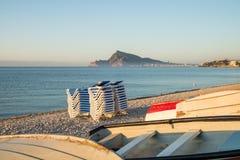 Bahía de Altea Imagen de archivo libre de regalías