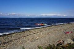 Bahía de Amur vladivostok Primorsky, región, Rusia Imágenes de archivo libres de regalías