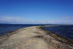 Bahía de Amur vladivostok Primorsky, región, Rusia Fotografía de archivo libre de regalías