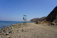 Bahía de Amursky vladivostok Primorye Rusia Imagen de archivo libre de regalías