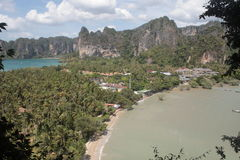 Bahía de Aonang fotografía de archivo libre de regalías