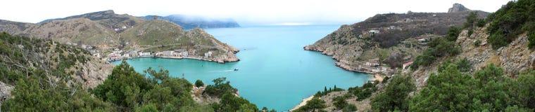 Bahía de Balaklava Foto de archivo