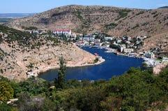 Bahía de Balaklavsky Imagenes de archivo