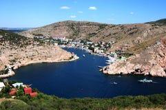 Bahía de Balaklavsky Imágenes de archivo libres de regalías