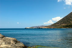 Bahía de Bali. Crete. imagen de archivo