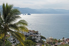 Bahía de Banderas en México fotografía de archivo