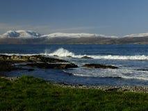 Bahía de Bantry que mira hacia Bearra Imagenes de archivo