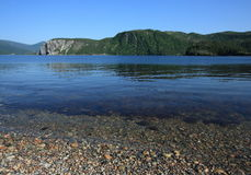 Bahía de Bonne en la punta de Norris Imagen de archivo libre de regalías