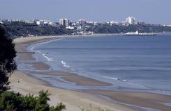 Bahía de Bournemouth Imagenes de archivo