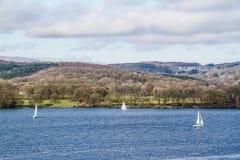 Bahía de Brathay, Ambelside, Cumbria Imagenes de archivo