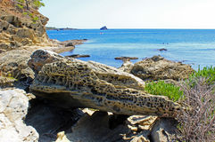 Bahía de Cadaques Imagen de archivo