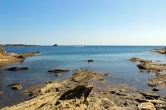 Bahía de Cadaques Imagen de archivo libre de regalías
