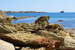 Bahía de Cadaques Imagenes de archivo