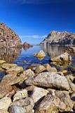 Bahía de Calafico - Cerdeña imagen de archivo