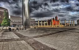 Bahía de Cardiff foto de archivo