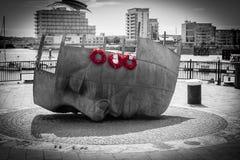 Bahía de Cardiff Imágenes de archivo libres de regalías