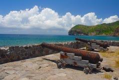 Bahía de Carrs en Montserrat Foto de archivo libre de regalías