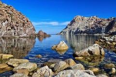 Bahía de Cerdeña - de Calafico imagen de archivo libre de regalías