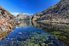 Bahía de Cerdeña - de Calafico foto de archivo libre de regalías
