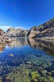 Bahía de Cerdeña - de Calafico imagen de archivo