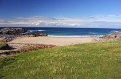 Bahía de Clabhach, isla de Coll fotografía de archivo libre de regalías